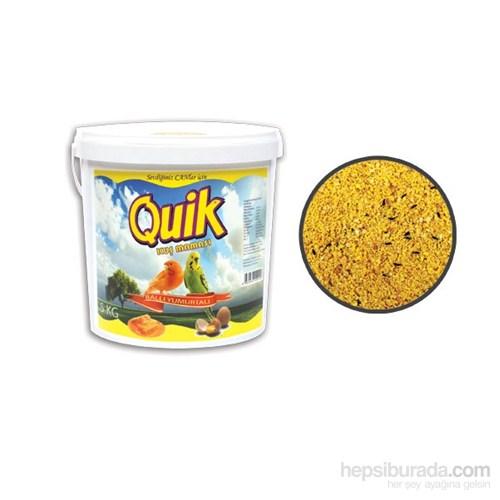 Quik Ballı Yumurtalı Kuş Maması 5 Kg Kova