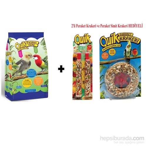 Quik Paraket Yemi 750 Gr (Peraket Krakeri 2'Li + Simit Kraker)