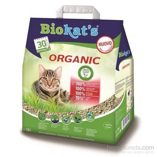 Biokats Organic Kedi Kumu 10 Lt 75.76 kk
