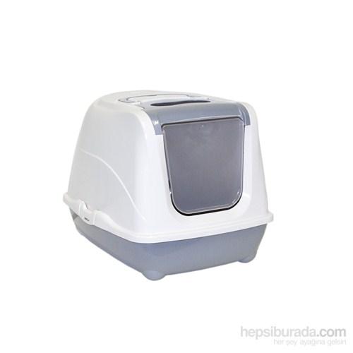 Moderna Flip Kapalı Tuvalet 58 Cm Gri