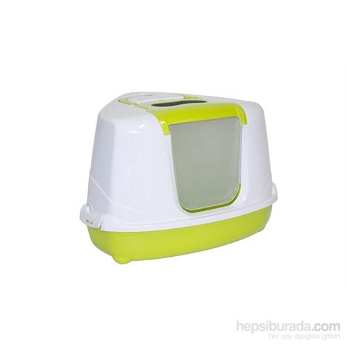 Moderna Flip Köşeli Tuvalet Yeşil
