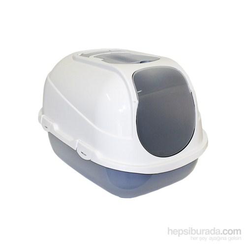 Moderna Mega Comfy Kapalı Tuvalet 66 Cm Gri