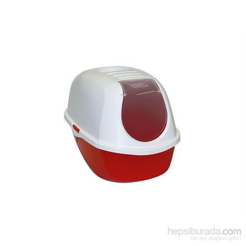 Moderna Smart Kapalı Kedi Tuvaleti 53 Cm Turuncu