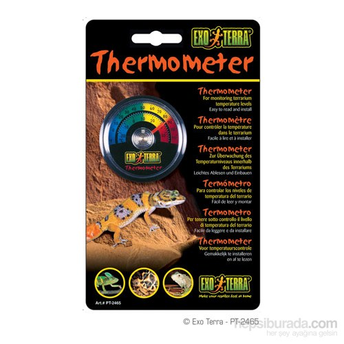 Exo Terra Yuvarlak Termometere