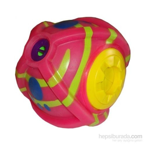 Happypet Wiggly Giggly Treat Ball Pembe
