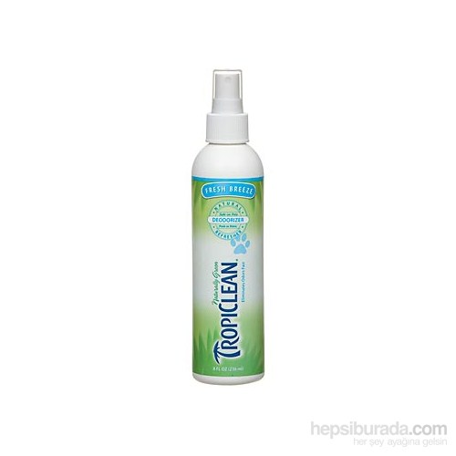 Tropiclean Natural Cologne Fresh Breeze Deodorizer 236 Ml