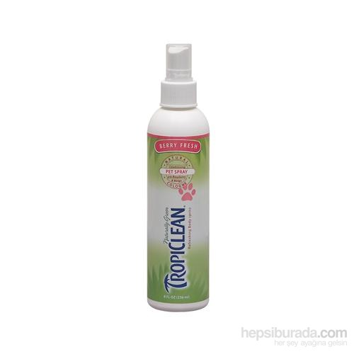 Tropiclean Natural Cologne Berry  Fresh Pet Spray 236 Ml