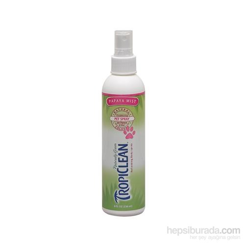 Tropiclean Natural Cologne Papaya Mist Pet Spray 236 Ml