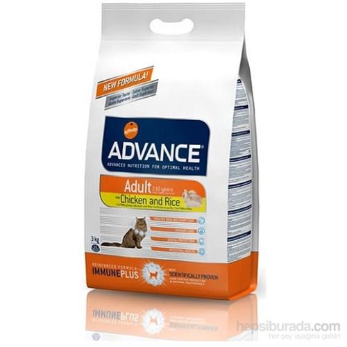 Advance Yetişkin Tavuklu Pirinçli Kuru Kedi Maması 3 Kg