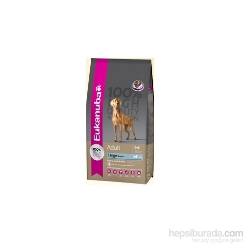 Eukanuba Büyük Irk Kuzulu Ve Pirinçli Kuru Köpek Maması 12 Kg