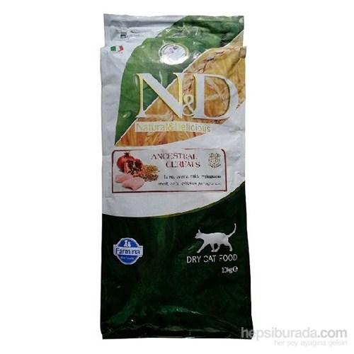 N&D Düşük Tahıllı Tavuk & Nar Kedi Maması 10 Kg