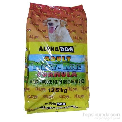 Alphadog The Love Meat&Rice Köpek Maması 13.5Kg
