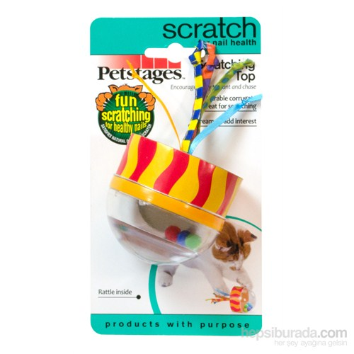 Petstages Scratching Top Sesli Kedi Oyuncağı