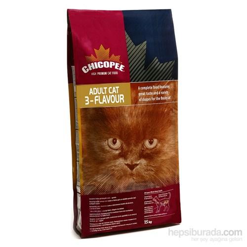 Chicopee Gourmet 3-Flavour Yetişkin Kuru Kedi Maması 2Kg