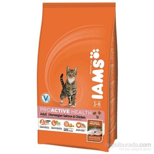 Iam's Cat Adult Salmon & Chicken Yetişkin Kedi Somonlu Tavuklu Kuru Maması 3 Kg