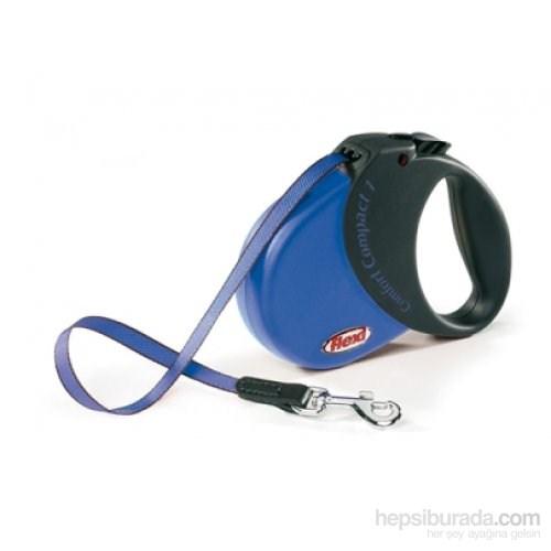 Flexi Comfort Compact 1 Mavi Otomatik Şerit 5 Mt Gezdirme Tasması 15 Kg