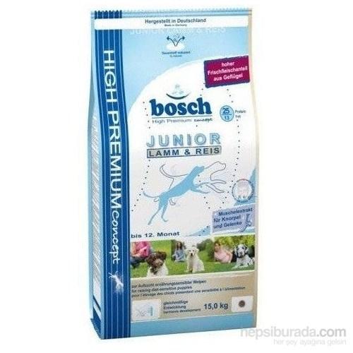 Bosch Yavru Kuzu Etli Ve Pirinçli Kuru Köpek Maması 15 Kg