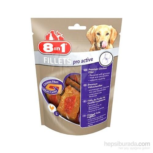 8İn1 Fillets Pro Active Köpek Ödülü 80Gr