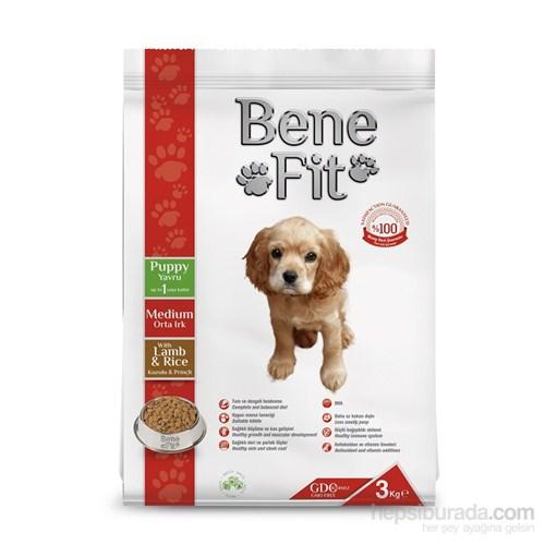 Benefit Puppy Orta Irk Kuzulu Ve Pirinçli Yavru Köpek Maması 3 Kg