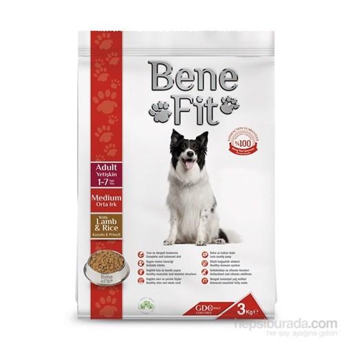 Benefit Adult Orta Irk Kuzulu Ve Pirinçli Yetişkin Köpek Maması 3 Kg