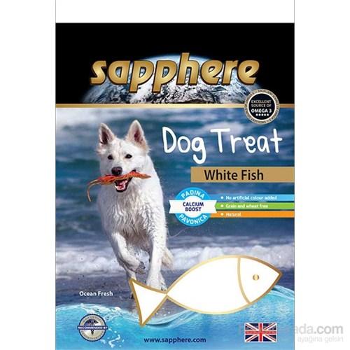 Sapphere White Fish Doğal Kurutulmuş Beyaz Balıklı Köpek Ödülü 75Gr