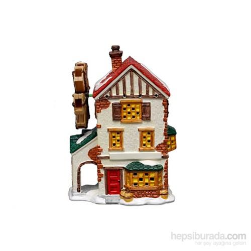 Akvaryum Dekor Değirmenli Lux Ev