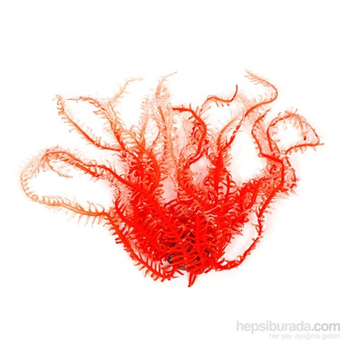 Akvaryum Dekor Glowlight Coral (Xl) Orange