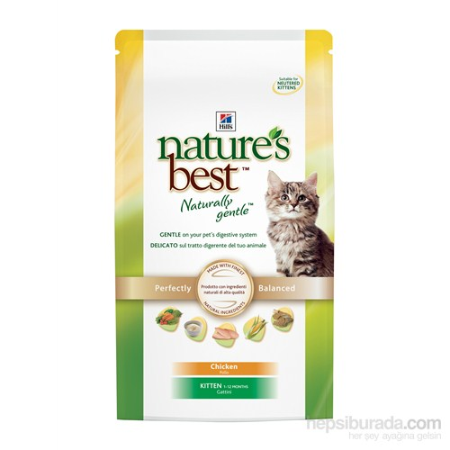 Hill's Nature's Best Tavuklu Yavru Kedi Maması 2 Kg (Nature`s Best Kitten with Chicken)