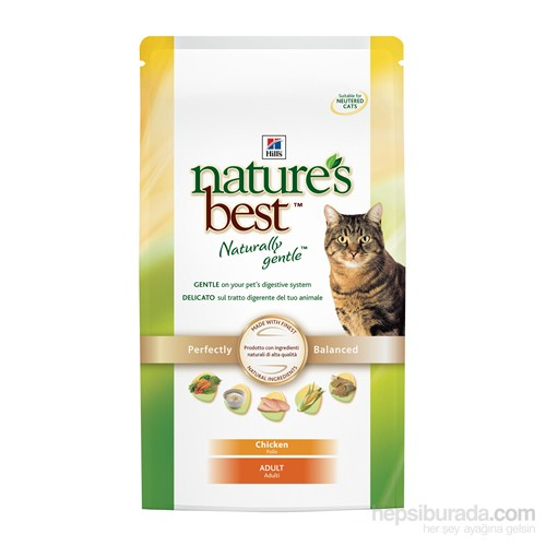 Hill's Nature's Best Tavuklu Yetişkin Kedi Maması 2 Kg (Nature`s Best Adult with Chicken) gk