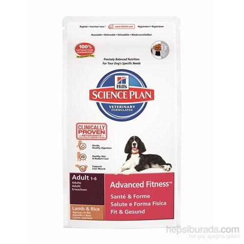 Hill's Science Plan Kuzu Etli Orta Irk Yetişkin Köpek Maması 3 Kg (Adult Advanced Fitness Medium with Lamb & Rice)
