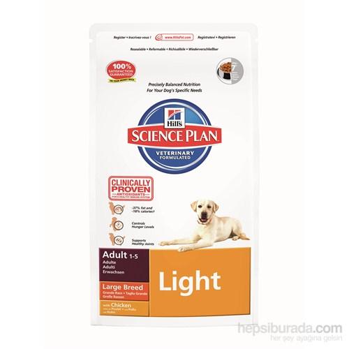 Hill's Science Plan Light Büyük Irk Yetişkin Köpek Maması 12 Kg (Adult Light Large Breed with Chicken)