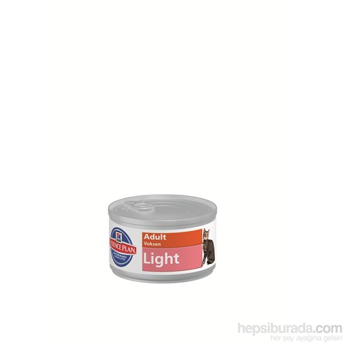 Hill's Science Plan Light Yetişkin Kedi Konserve Maması 85 Gr (Adult Light)