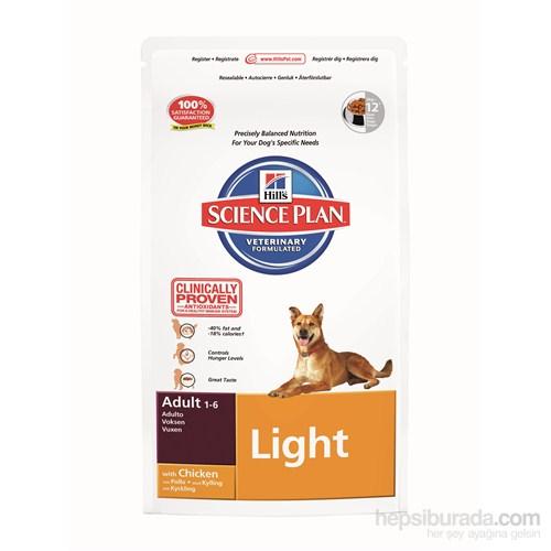 Hill's Science Plan Light Yetişkin Köpek Maması 3 Kg (Adult Light with Chicken)