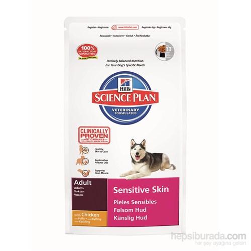 Hill's Science Plan Tavuklu Hassas Deri Yapısı için Yetişkin Köpek Maması 3 Kg (Adult Sensitive Skin with Chicken)