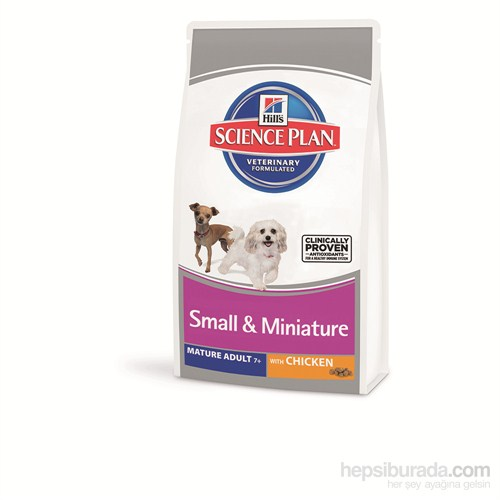 Hill's Science Plan Tavuklu Küçük & Minyatür Irk Yaşlı Köpek Maması 1,5 Kg (Mature Adult Small & Miniature with Chicken )