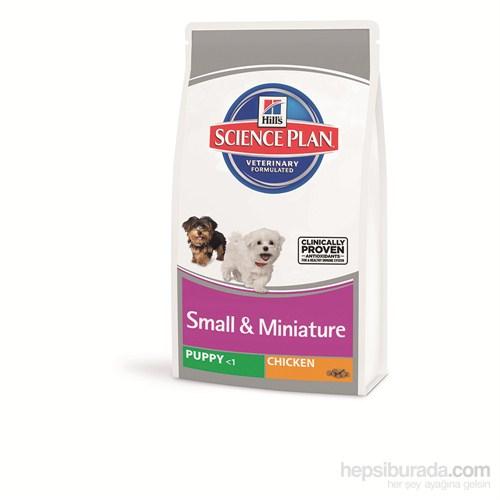 Hill's Science Plan Tavuklu Küçük & Minyatür Irk Yavru Köpek Maması 1,5 Kg (Puppy Small & Miniature with Chicken) gk