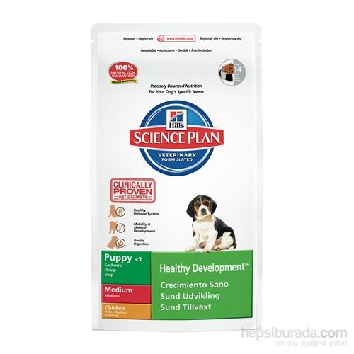 Hill's Science Plan Tavuklu Orta Irk Yavru Köpek Maması 3 Kg (Puppy Healthy Development Medium with Chicken)