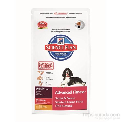 Hill's Science Plan Tavuklu Orta Irk Yetişkin Köpek Maması 2,5 Kg (Adult Advanced Fitness Medium with Chicken)