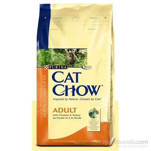 Purina Cat Chow Tavuklu ve Hindili Yetişkin Kedi Maması - 1,5 Kg (ADULT Chicken&Turkey)