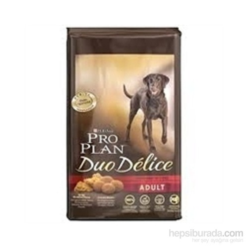 Pro Plan Duo Delice Taze Parça Sığır Etli Yetişkin Köpek Maması 2,5 Kg (Adult Dog Beef) gk*