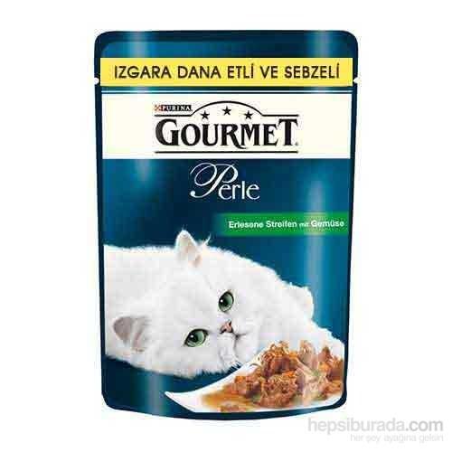 Purina Gourmet Perle Izgara Dana Etli Sebzeli Kedi Maması 85 gr