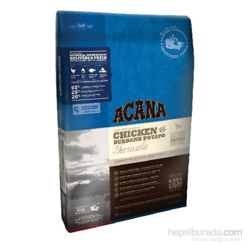Acana Chicken&Burbank Potato - Köpek Maması 2,27kg