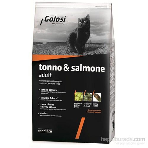 Golosi Cat Tonno & Salmone Somon Balıklı, Ton Balıklı Ve Pirinçli Yetişkin Kedi Maması 400 Gr