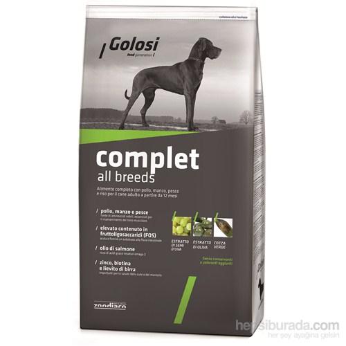 Golosi Dog Complet Tavuklu, Sığır Etli, Balıklı Ve Pirinçli Yetişkin Köpek Maması 3 Kg