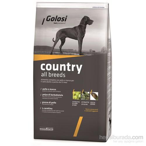 Golosi Dog Country Tavuklu Ve Sığır Etli Yetişkin Köpek Maması 3 Kg