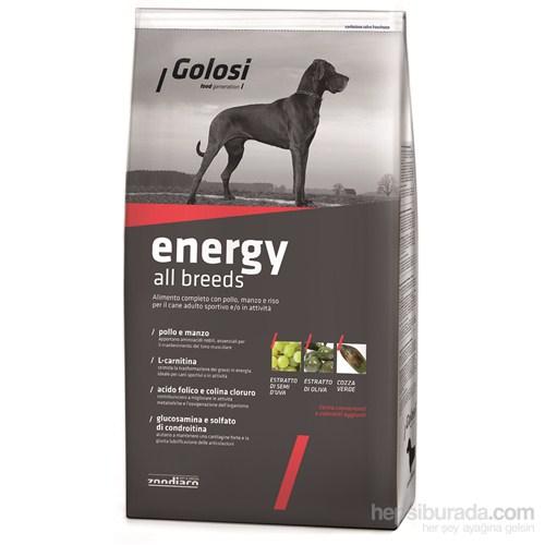 Golosi Dog Energy Sığır Etli, Tavuklu Ve Pirinçli Yetişkin Köpek Maması 12 Kg