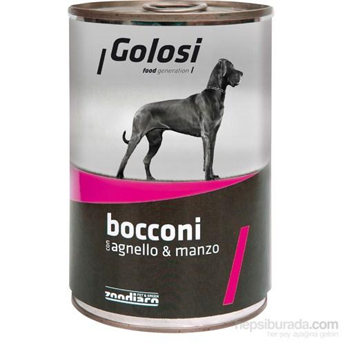 Golosi Chunks / Bocconi Dog Kuzu ve Sığır Etli Köpek Konservesi 400 Gr