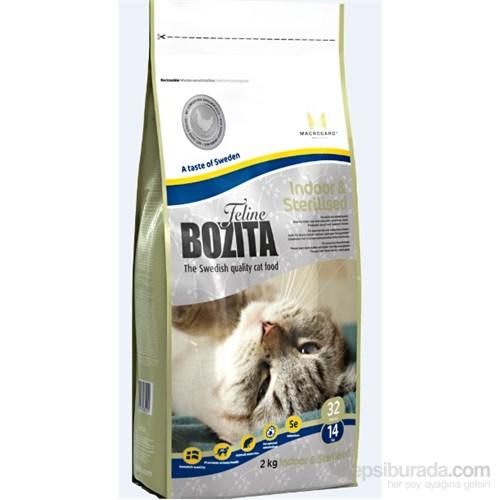 Bozita Feline İndoor Sterilised Evde Yaşayan ve Kısırlaştırılmış Kedi Maması 2 Kg