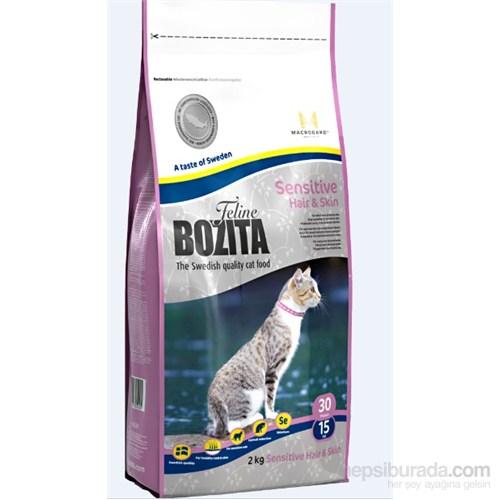 Bozita Feline Sensitive Hair & Skin Uzun Tüylü ve Hassas Ciltli Yetişkin Kedi Maması 2 Kg fd*