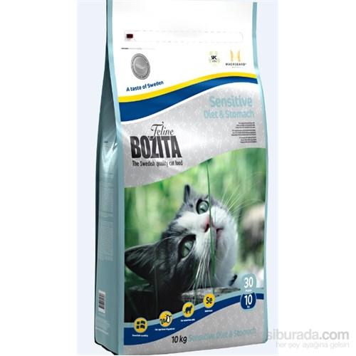 Bozita Feline Sensitive Diet & Stomach Geyik Etli Yetişkin Kedi Maması 10 Kg